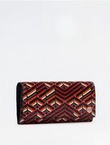 Calvin Klein City Grid Flap Wallet