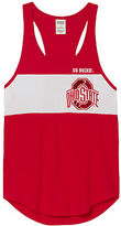 PINK The Ohio State University Bling Racerback Tank