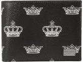 Dolce & Gabbana Crown Printed Wallet Wallet Handbags