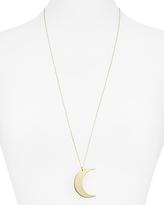 Aqua Melody Moon Pendant Necklace, 30 - 100% Exclusive