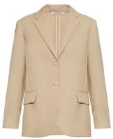 Nina Ricci Organdi single-breasted wool-crepe jacket