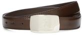 Versace Five Notch Leather Belt