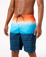 Speedo Men's Pattern Blocked Board Shorts, 9""