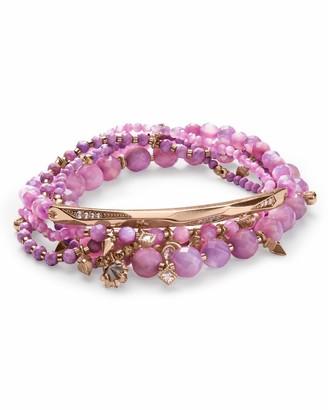 Kendra Scott Supak Bracelet Rose Gold/Lilac/Mix One Size