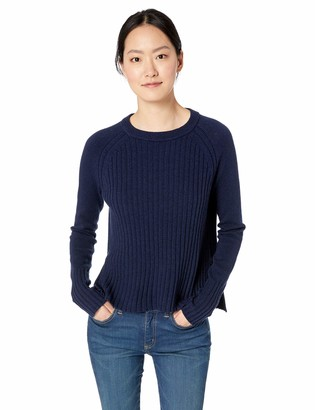 Daily Ritual Amazon Brand Women's Rib-Front Pullover Sweater