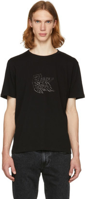 Saint Laurent Black Blow Blow T-Shirt