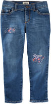Osh Kosh Oshkosh Rip-and-Repair Tomboy Jeans - Preschool Girls 4-6x