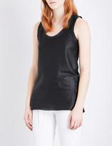 Ann Demeulemeester Leather vest