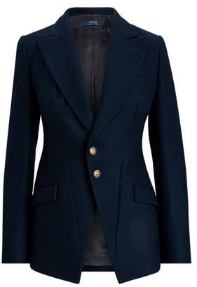 Ralph Lauren Wool-Blend Riding Blazer