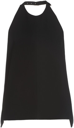 Jil Sander Backless Crepe Halter Top