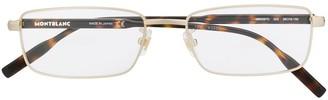 Montblanc Rectangular Frame Optical Glasses