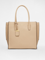 DKNY Fine Pebble Leather Tote