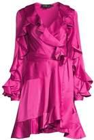PatBO Ruffle Wrap Dress