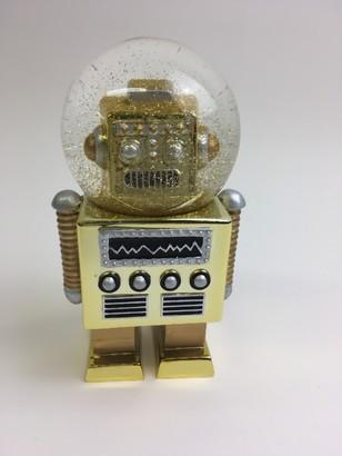Donkey Products - Snowglobe Robot Gold