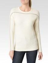 Paige Helena Sweater - Custard