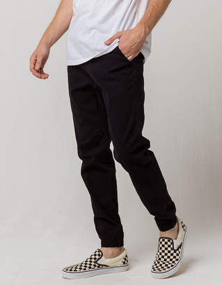 Charles And A Half Midnight Blue Mens Twill Jogger Pants