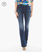 Chico's Platinum Barely Bootcut Jeans