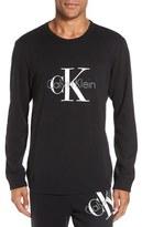 Calvin Klein 'Origins' Cotton Blend Crewneck Sweatshirt