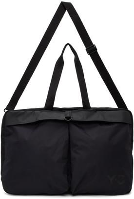 Y-3 Black Weekender Duffle Bag