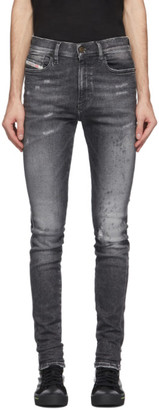 Diesel Grey D-Istort 009 EX Jeans