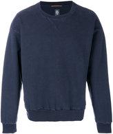 Eleventy distressed style sweatshirt