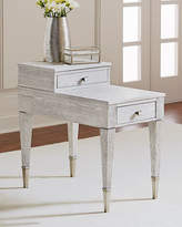 Bernhardt Damonica White Oak Two-Drawer Side Table