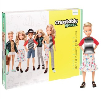 Mattel Creatable World Deluxe Character Kit 5 BLONDE HAIR