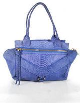 Botkier Cobalt Blue Trigger Small Satchel Handbag New $348 90027393