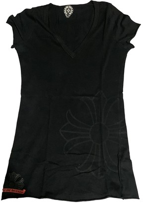 Chrome Hearts Black Cotton Top for Women