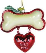 Kurt Adler Noble Gems Best Dog, Christmas Ornament