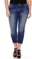 YMI Jeanswear Fit Solution Denim Cropped Pant - Juniors Plus