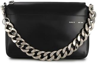 Kara Chain-Embellished Clutch