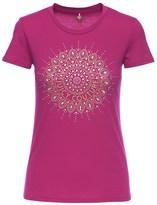 Juicy Couture Logo Studded Medallion Short Sleeve Tee