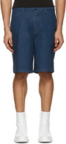 Acne Studios Indigo Denim Allan Shorts