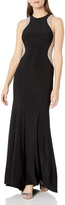 Xscape Evenings Women's Long ITY Racer with Caviar Beads