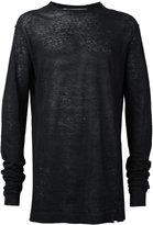 Damir Doma fine knit jumper - men - Linen/Flax - S