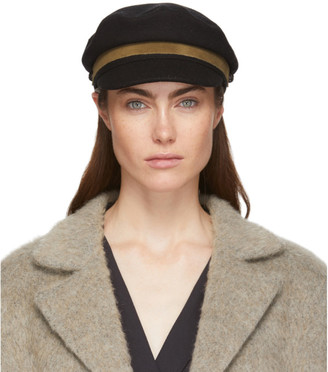 Rag & Bone Black Fisherman Cap