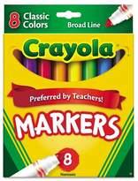 Crayola Markers Broadline 8ct Classic