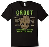 Marvel Groot Guardians of Galaxy 2 Skills Graphic T-Shirt