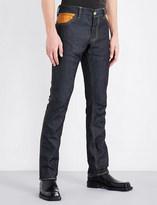 Wales Bonner Chapal slim-fit straight jeans