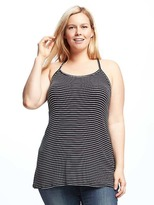 Old Navy High-Neck Plus-Size Swing Tank
