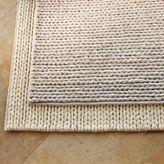 Chunky Plaited Wool Rug