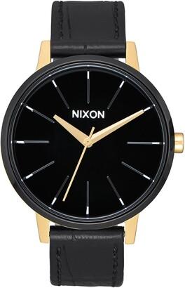 Nixon Women's Kensington Leather Strap Watch, 37mm
