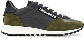 DSQUARED2 low-rise panelled sneakers