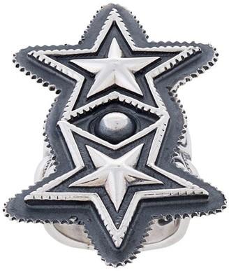 Sanderson Cody double star ring