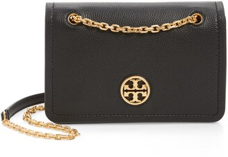 Tory Burch Carson Convertible Leather Crossbody Bag