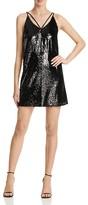 Aqua Sequin Strappy Dress - 100% Exclusive