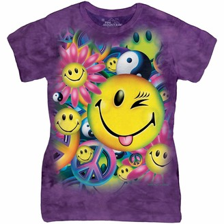 The Mountain Junior's Peace and Happiness Graphic T-Shirt