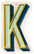 Anya Hindmarch 'K' sticker