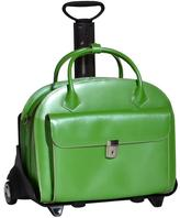 McKlein Leather Detachable Wheeled Case